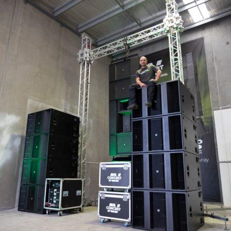 Concert AV Buys First KV2 Audio VHD5.0 System in Australia